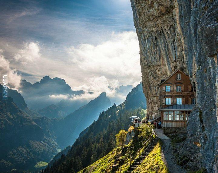 aescher hotel szwajcaria