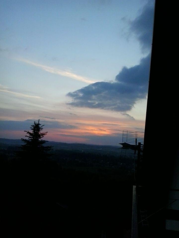 Wulkan na niebie