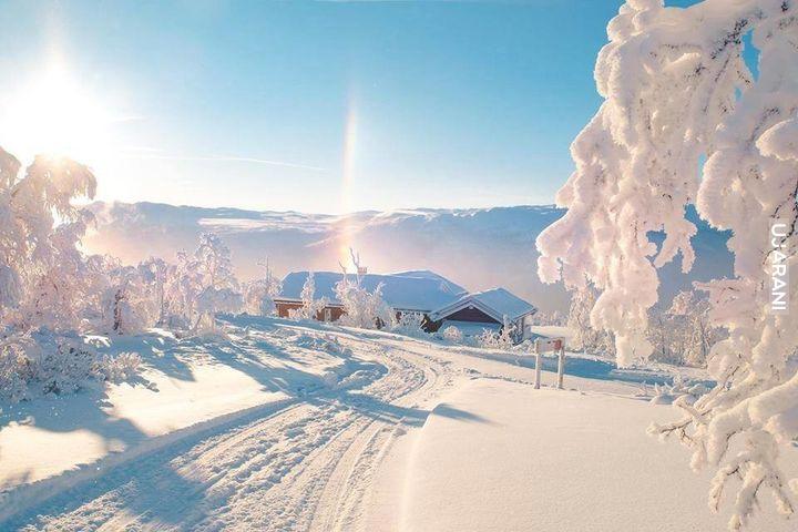 Poranek w Norwegii