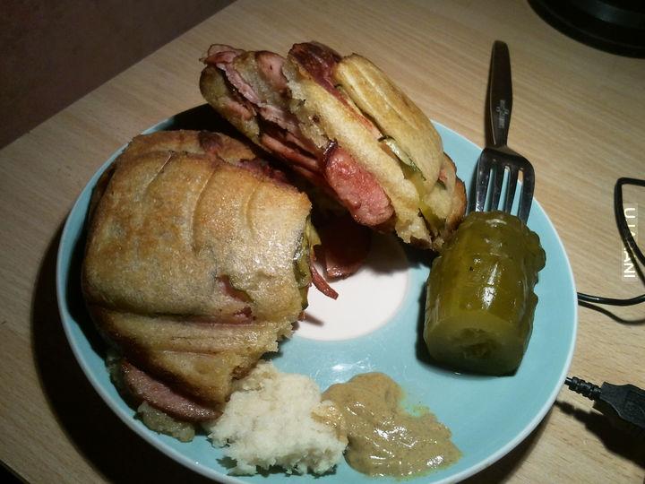 Takiego gastro to dawno nie miałem, dwa takie tosty za cały obiad