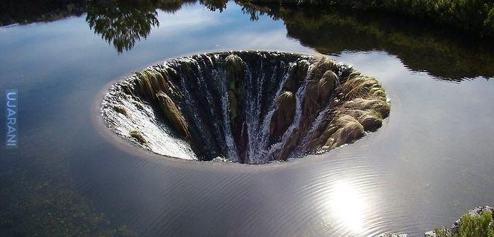 Tunel wodny w Portugalii