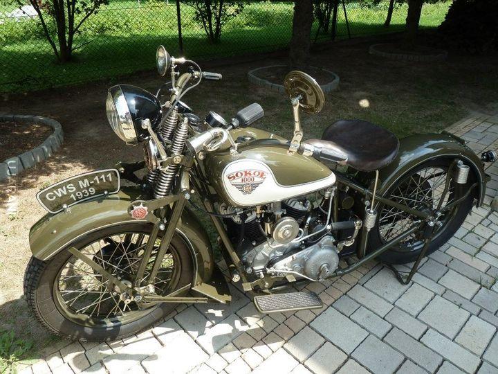 Sokół 1000 - piękny polski motocykl