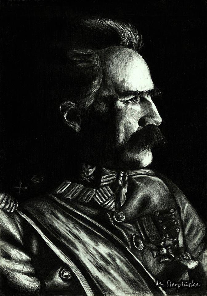 J. Piłsudski, ołówek
