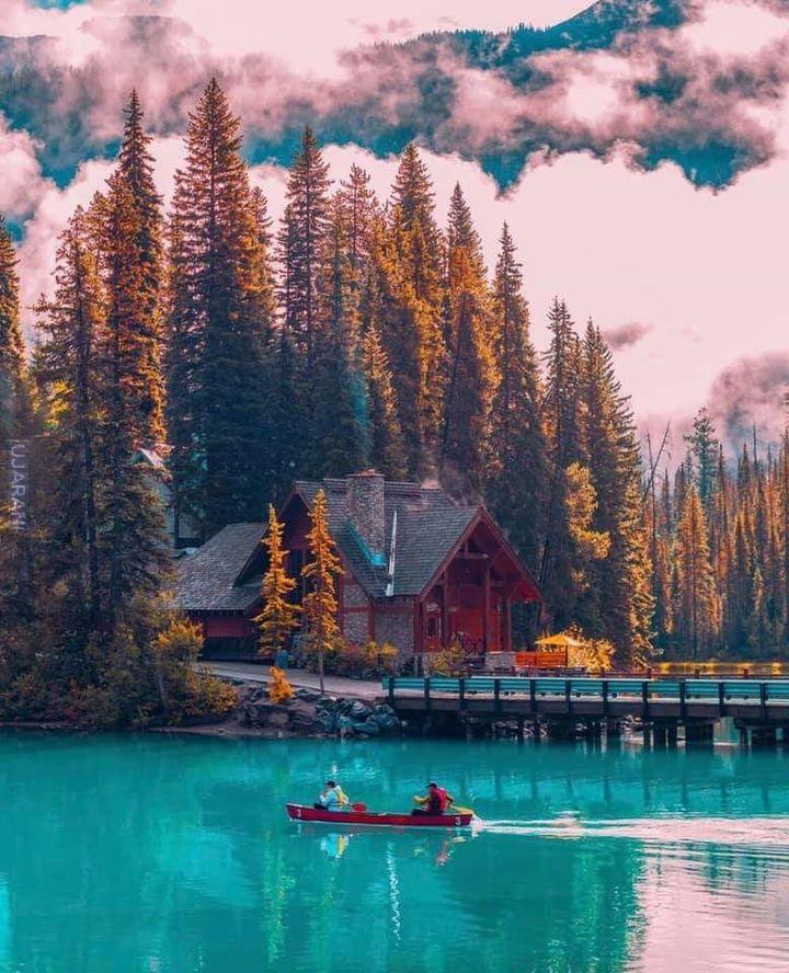 Jezioro Emerald w Kanadzie