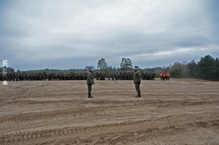Pododdziały 7. Brygady Obrony Wybrzeża rozpoczęły szkolenie poligonowe.