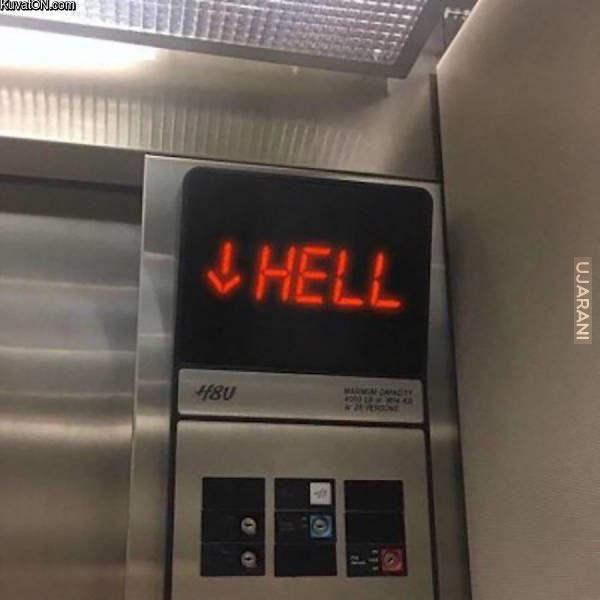 To uczucie kiedy wsiadasz do windy a ona jedzie na Twoje piętro