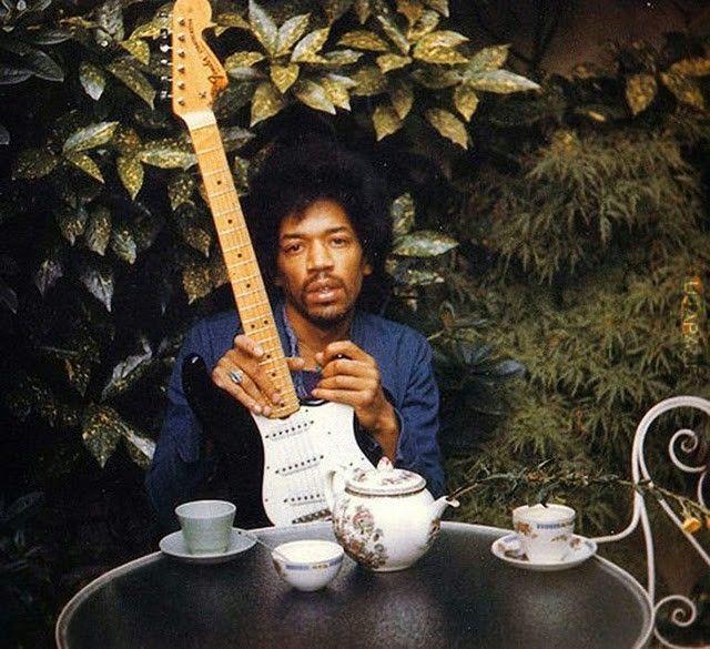 Jimi Hendrix dzień przed śmiercią, 1970
