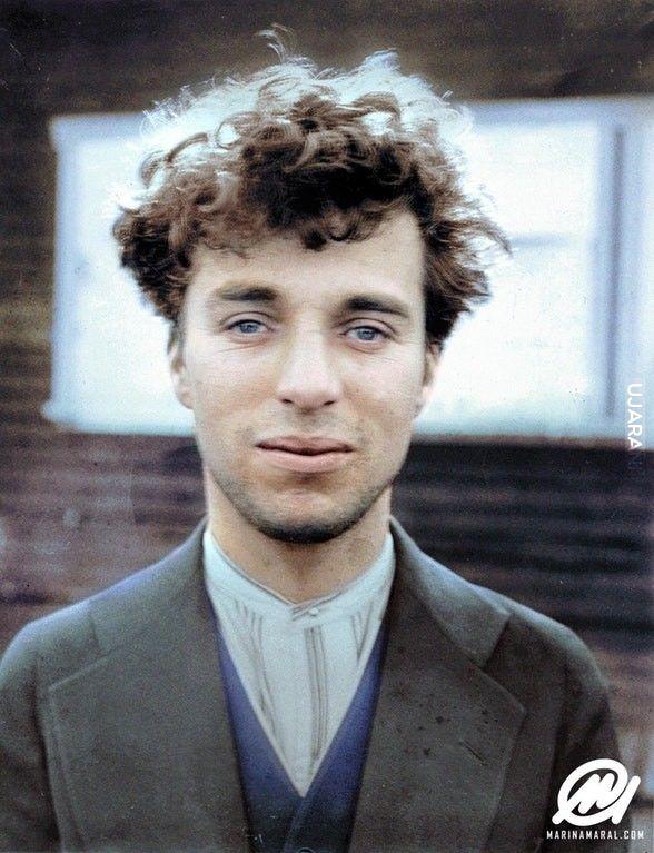 27-letni Chaplin 1916 rok