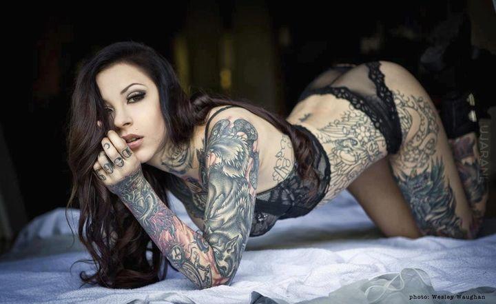Tatuaże są świetne!