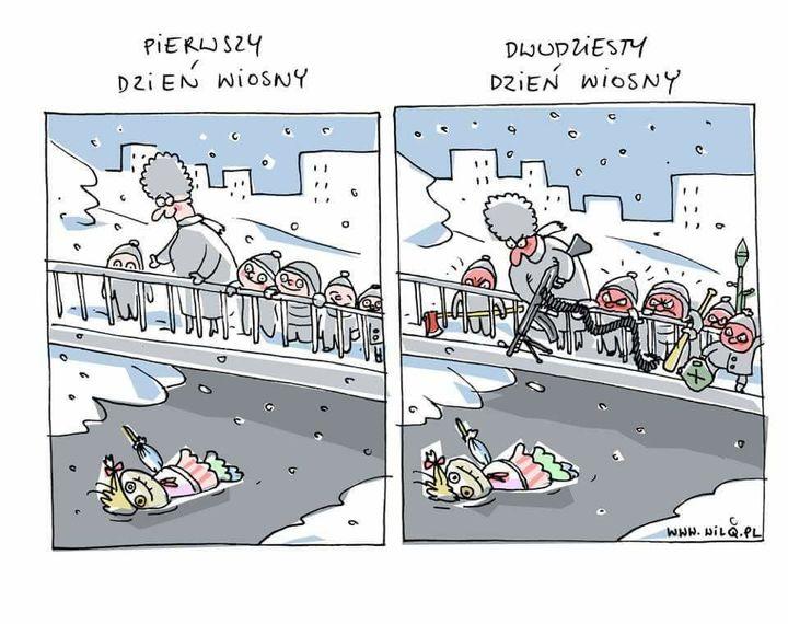 Jak żegnać zimę :)