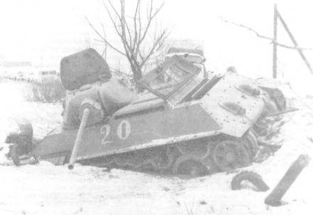 T-34, a raczej jego resztki ;p