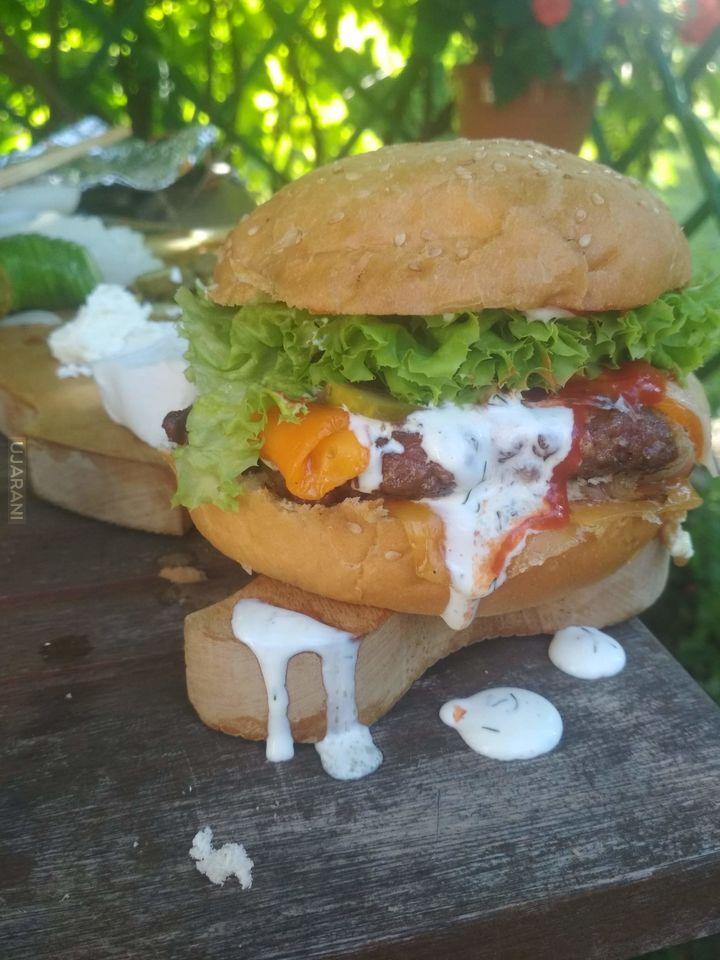 Niedzielny burger