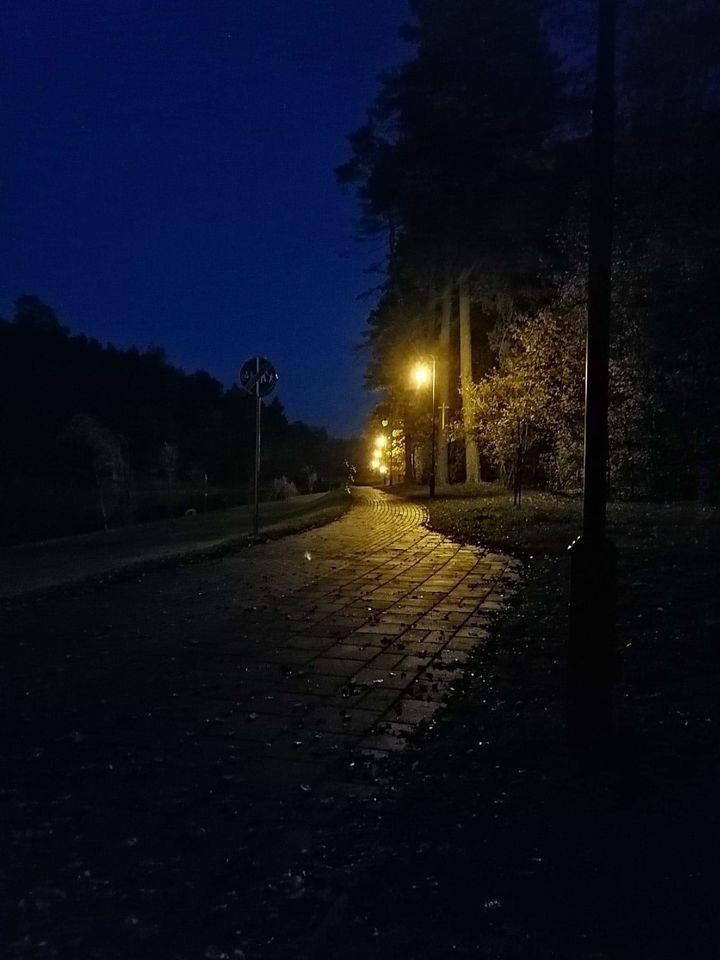 Jesienny, ale jakże ciepły wieczór :)