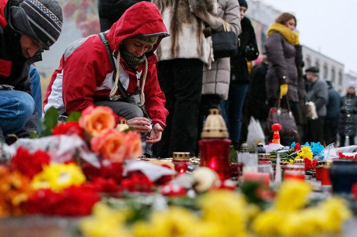 Cywilne ofiary wojny na Ukrainie