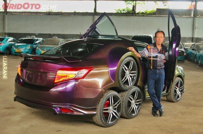Ośmiokołowa Toyota