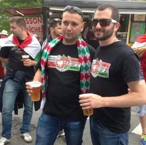 W takich koszulkach można spotkać Węgrów na Euro we Francji.