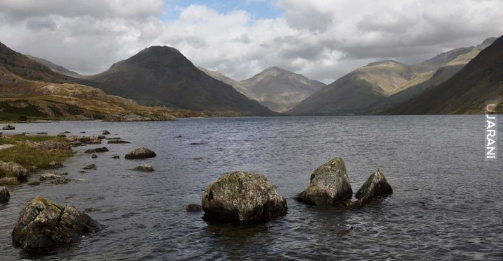 Wast Water w Lake Disctrict (Cumbria UK)