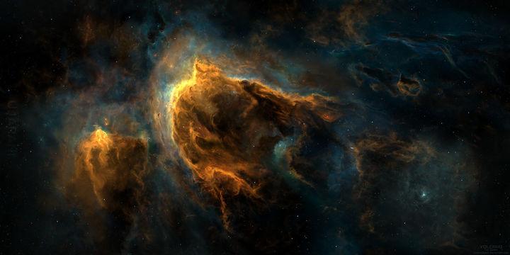 Kosmos.. Malowany i piękny