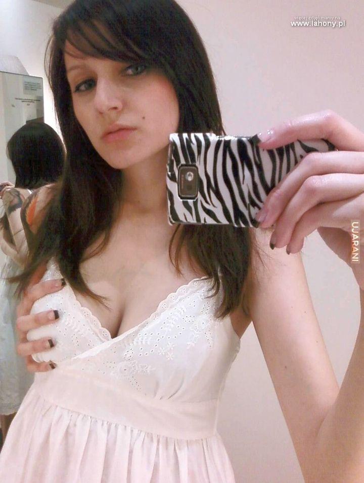 Selfie w bieliźnie