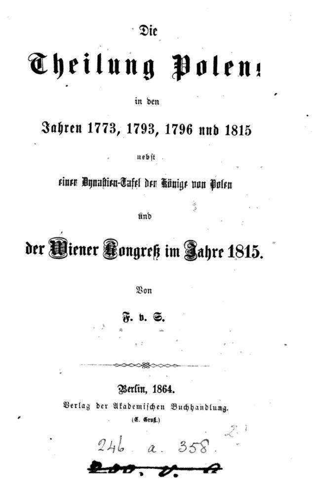 Tajne Archiwum Watykańskie: Poczet królów Lechii udokumentowany przez niemieckiego zaborcę w 1864 roku! A Ty, Lechito, śpij dalej…