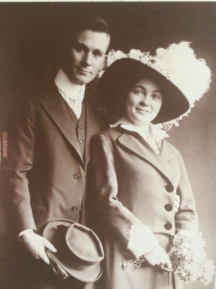 Zdjęcie ślubne z 1910 roku