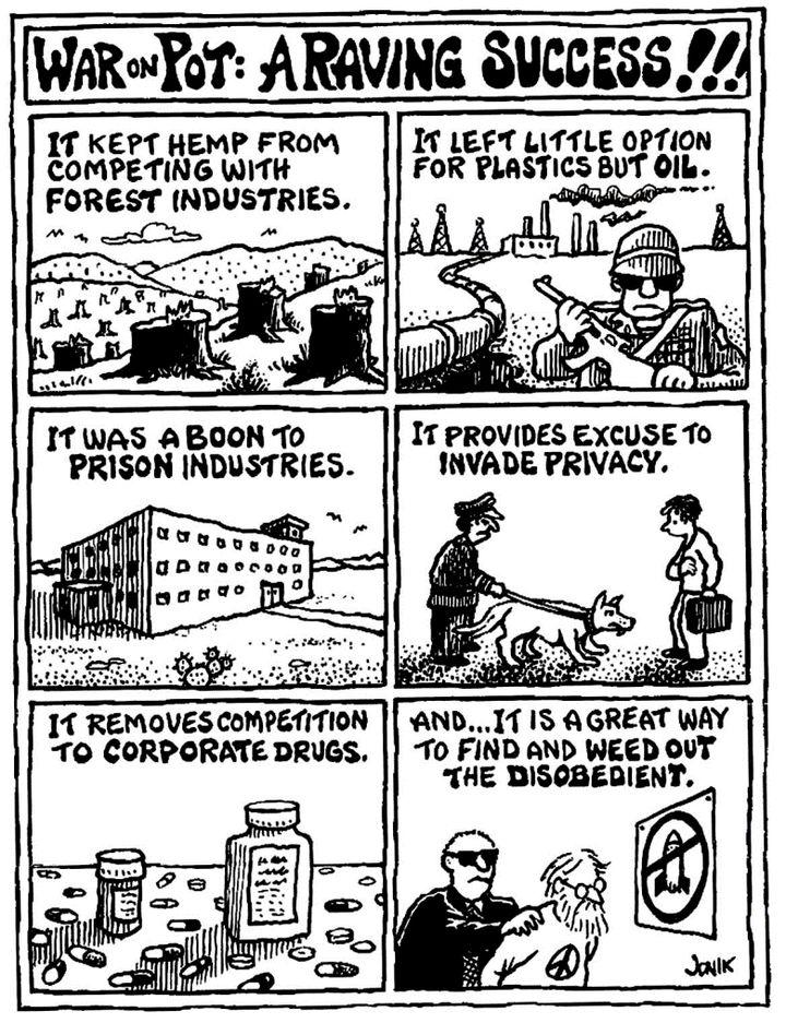 Wojna z narkotykami to sukces