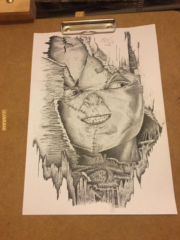 Chucky, Kropki