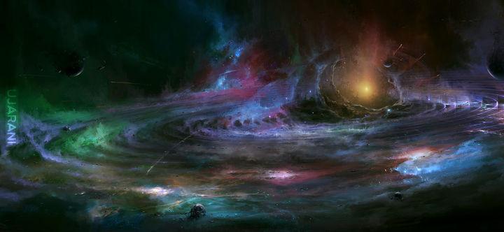 Colored universe