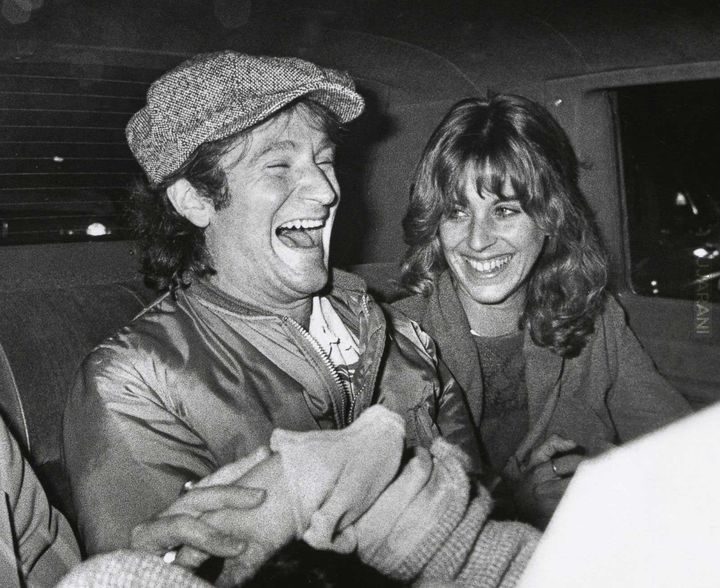 Robin Williams z żoną, 1983