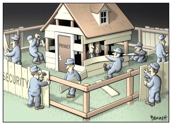 Prywatność za iluzję bezpieczeństwa?