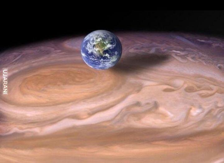 Ziemia vs Jowisz