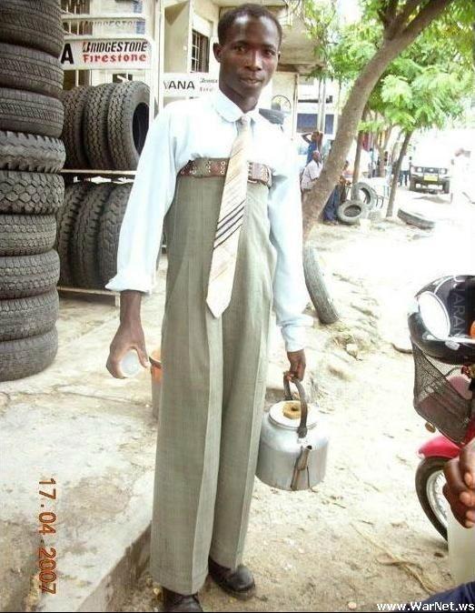 spodnie po starszym bracie
