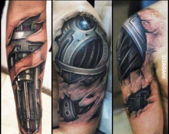 Realistyczne tatuaże cz1