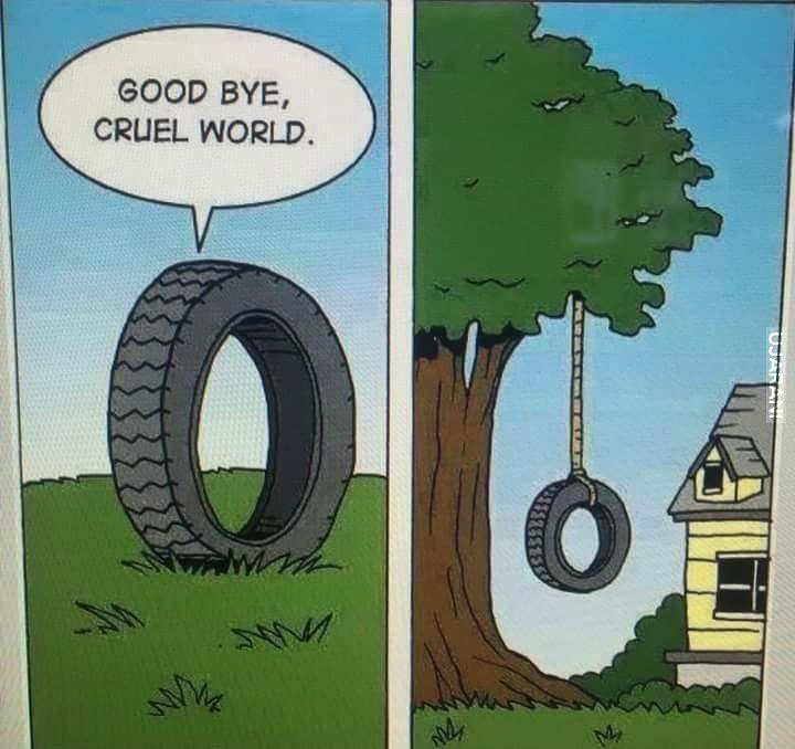Żegnaj okrutny świecie