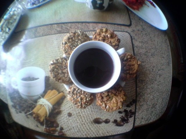 kawę podano...