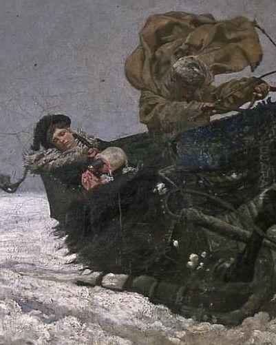 Powrót z balu, Józef Chełmoński
