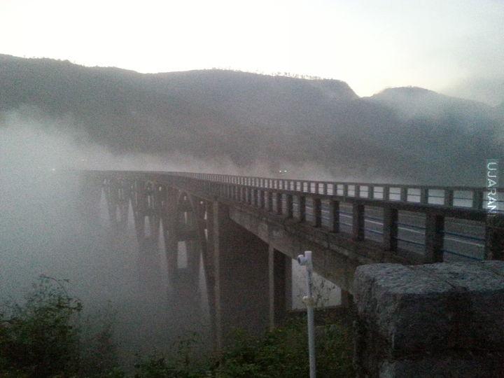 Most łaczący 2 góry w Montenegro