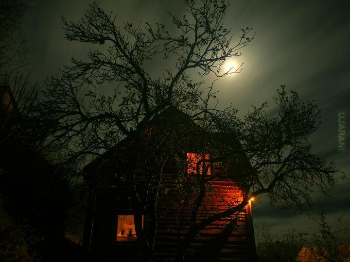Mój dom trochę Halloweenowo