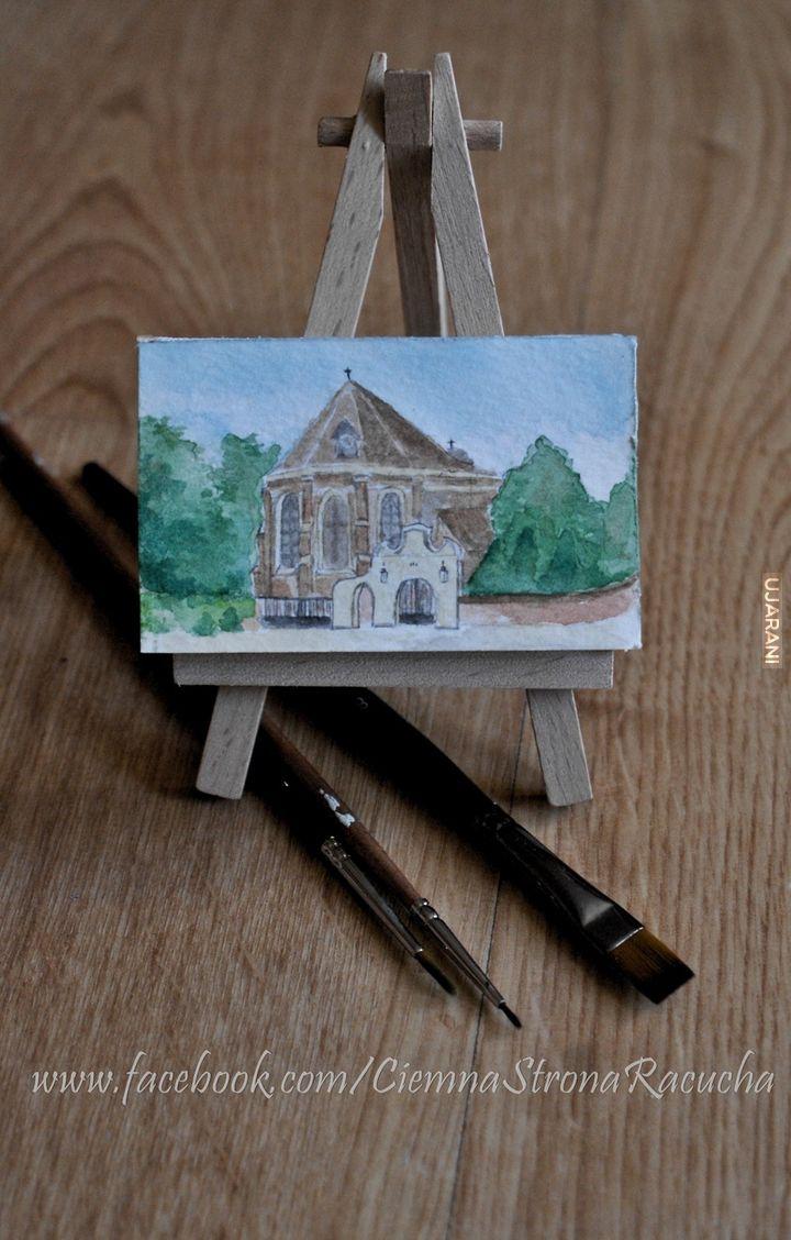 Ratusz i kościoł w wersji mini.