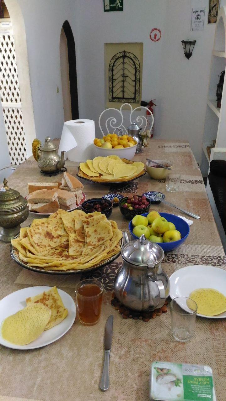 Marokańskie śniadanie