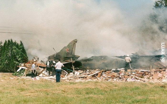 Katastrofa Mig-a 23 pod Kortrijk.