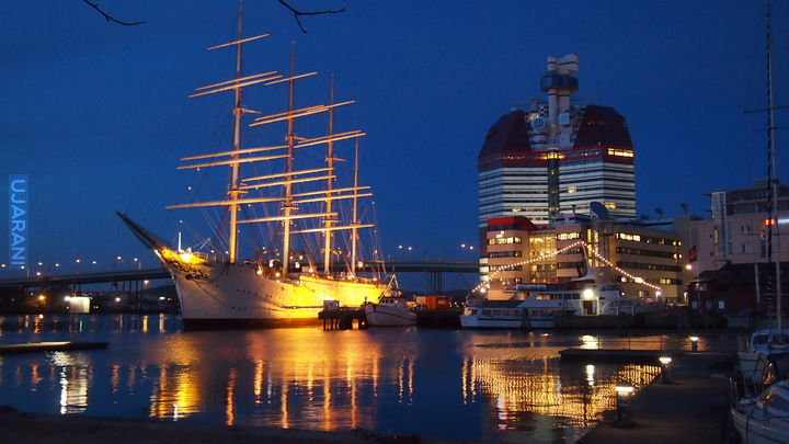 Szwecja wieczorową porą