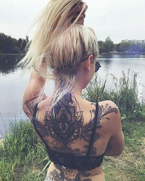 Inked blond