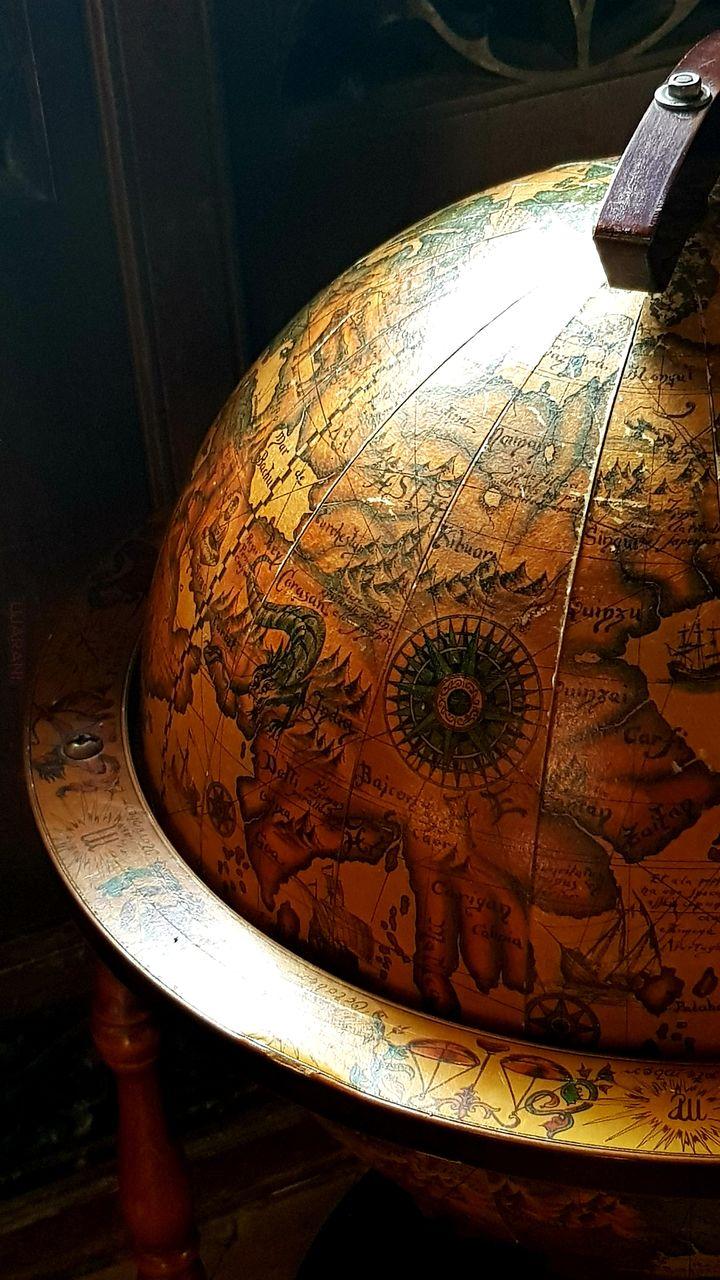 Stary globus - zamek Czocha
