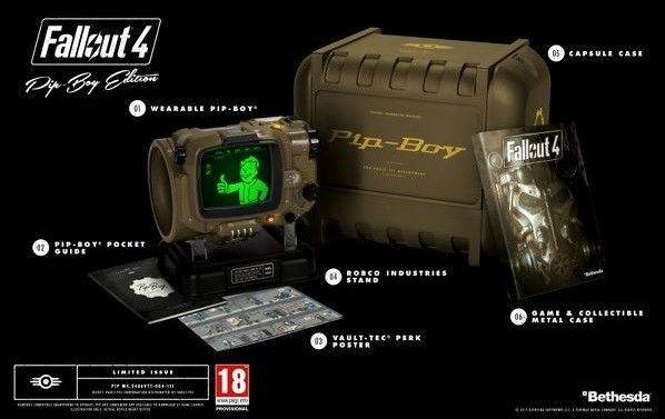 Fallout4 collector edition !!!