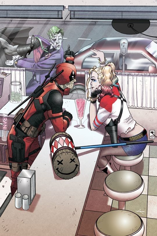 Walentynki | Deadpool & Harley Quinn pt1