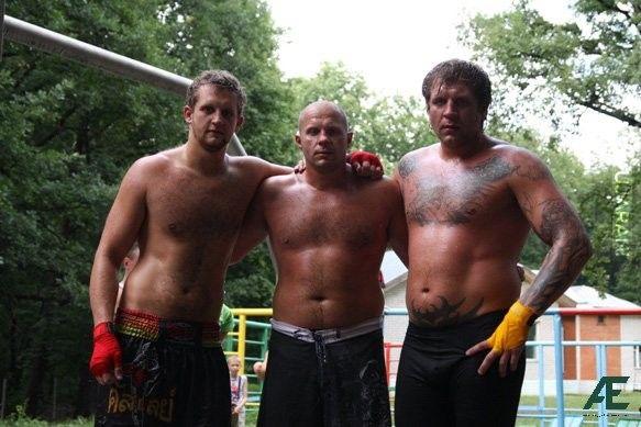 Ivan, Fedor i Aleksander Emelianenko