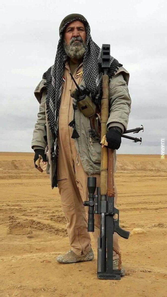 Abu Tahseen, Szejk Snajperów