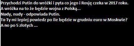 Wojna z Rosją ...