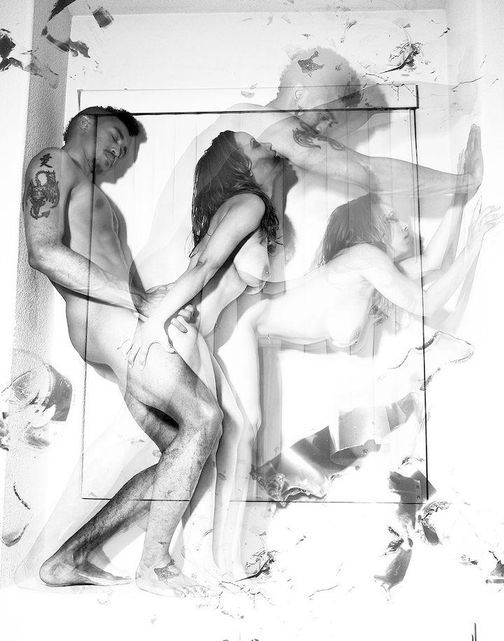Черно белое порно фото спокойной ночи